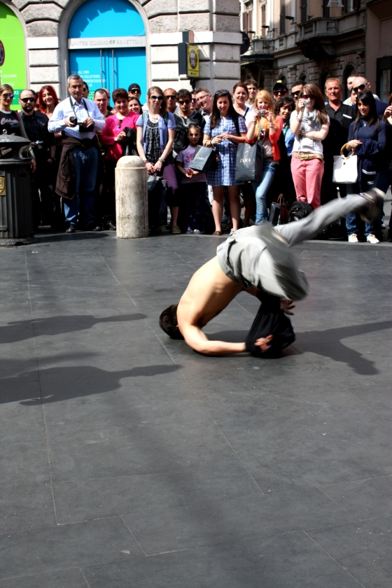 street dancers - Via del Corso