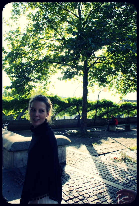 ..my amazing best girlfriend Laura - here after her graduation in Zurich...
